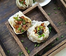 腊肠烧卖#馅儿料美食,哪种最好吃#的做法