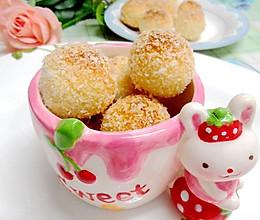 蛋白椰丝球#九阳烘焙剧场#的做法