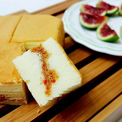 酸奶肉松蛋糕——少油版