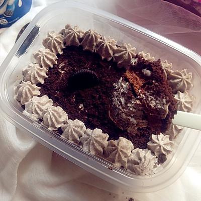 奥利奥奶油盒子蛋糕