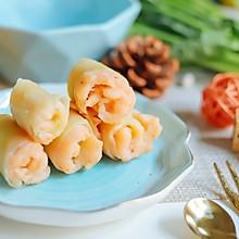 莴笋虾肉卷~宝宝辅食