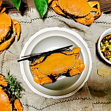 #合理膳食 营养健康进家庭#原汁原味~清蒸螃蟹