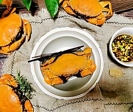 #合理膳食 营养健康进家庭#原汁原味~清蒸螃蟹的做法