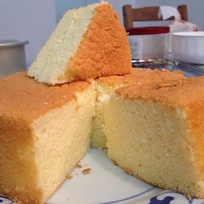 全蛋海绵蛋糕小岛老师的配方