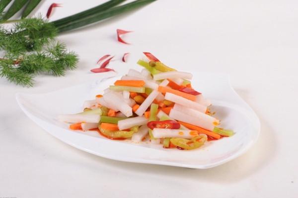 四川泡菜萝卜泡菜(简易速成版)的做法