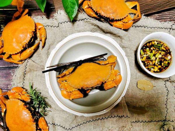 原汁原味~清蒸螃蟹的做法