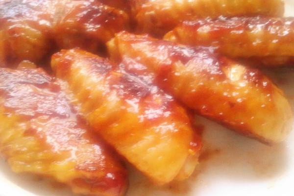 蜜汁番茄鸡翅的做法