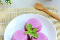 紫薯酸奶冻的做法
