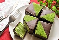 巧克力抹茶千层蛋糕#美的女王节#的做法