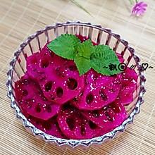 胭脂藕片----能排毒养颜的小吃