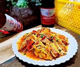 #新春美味菜肴#茄汁黄金蛋包肉的做法