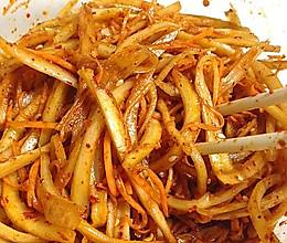 拌桔梗~东北名字;狗宝咸菜的做法
