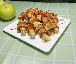 美味培根金针菇卷的做法