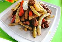 #中秋团圆食味#东北-豆角炖肉的做法