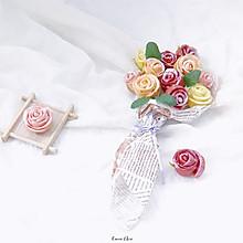 玫瑰花馒头,一生一世只爱你#精品菜谱挑战赛#