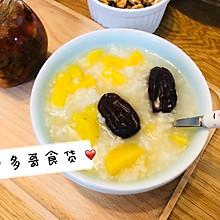 美味又营养de番薯小米红枣粥