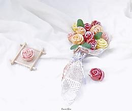 玫瑰花馒头,一生一世只爱你#精品菜谱挑战赛#的做法