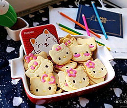 萌倒众人的Hello Kitty饼干的做法