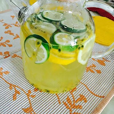 百香果柠檬饮料