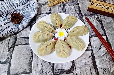 韭菜鸡蛋蒸饺