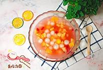 水果烩汤圆的做法