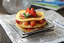 奶香草莓松饼#澳佳宝生命最初1000天#的做法