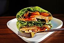 #夏日撩人滋味#蔬菜三明治的做法