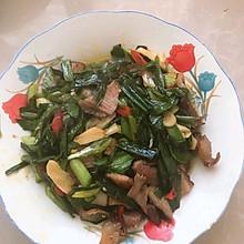 #福气年夜菜#蒜苗炒腊肉