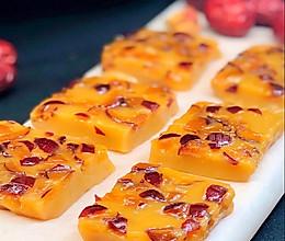 红糖枣香糯米凉糕的做法