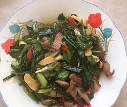 #福气年夜菜#蒜苗炒腊肉的做法