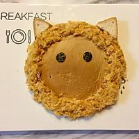 儿童早餐—狮子吐司的做法图解4