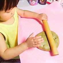 抹茶蜜豆面包12+