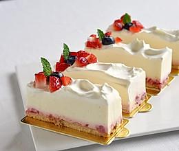 草莓冻芝士蛋糕(视频菜谱)的做法