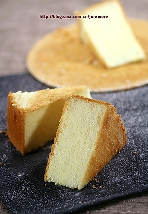 超软烫面戚风蛋糕【图片】