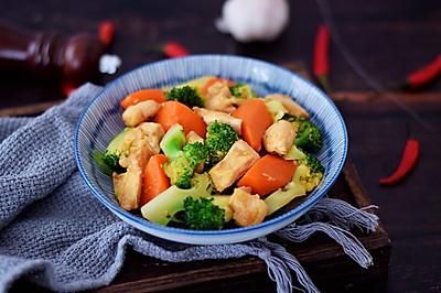 #春天肉菜这样吃#西兰花炒鸡胸肉