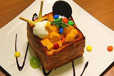 【蜜糖吐司简易版】蜂蜜厚多士——【长帝烘焙节】