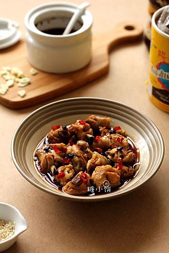 【无油豉汁蒸翅】简单美味快手菜的做法