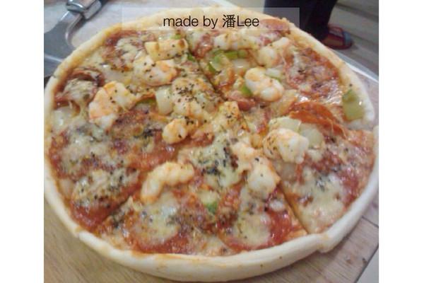 潘Lee-自制pizza的做法