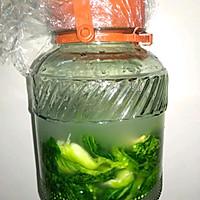 酸菜爆炒肥肠的做法图解2