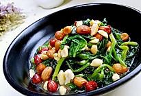 初雪 · 菠菜 · 花生米的做法