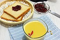 莲藕枸杞豆浆的做法
