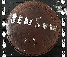 6寸巧克力蛋糕的做法