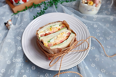 金槍魚三明治【寶寶最愛早餐】