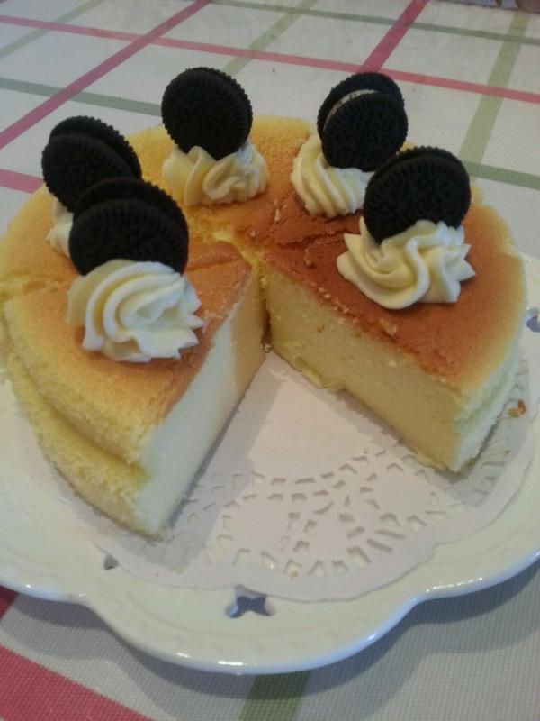 轻乳酪蛋糕的做法