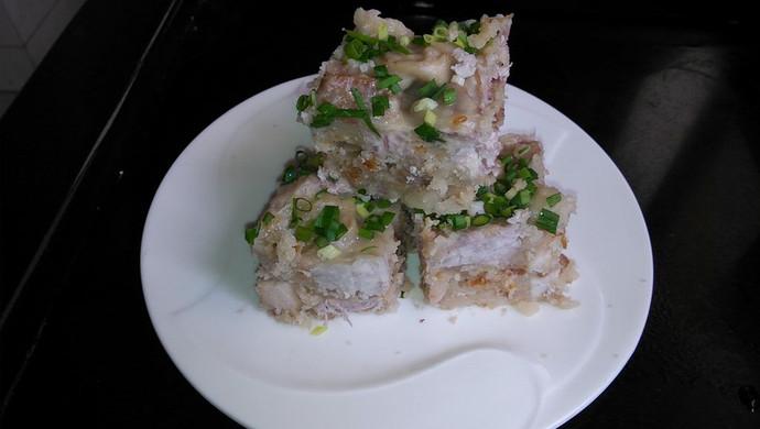 咸肉虾米芋头糕