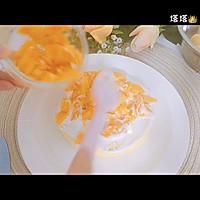 六寸芒果生日蛋糕蒸蛋糕的做法图解6