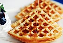美式华夫饼早餐的做法