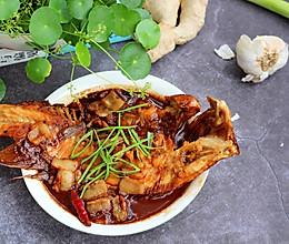 #花10分钟,做一道菜!#红烧海鱼的做法