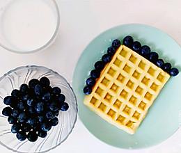 快捷华夫饼早餐机版的做法