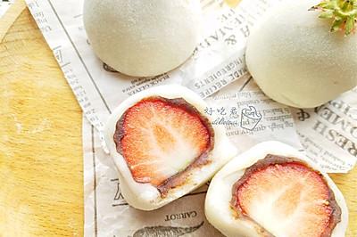 草莓大福#带着美食去踏青#